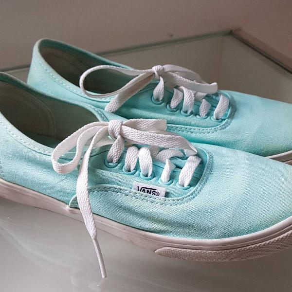 Vans classic azul claro