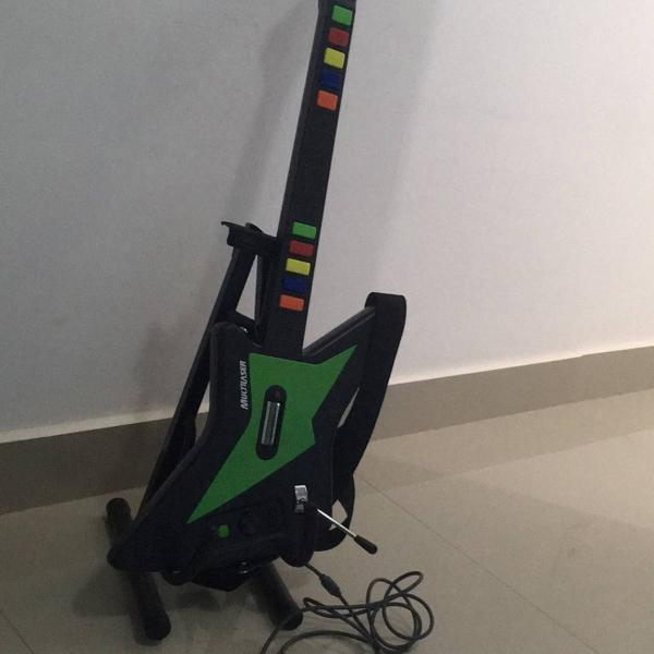 X guitar para xbox 360 e pc js064 - multilaser