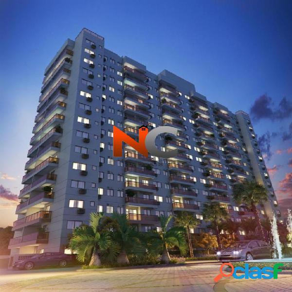 Rjz cyrela like, apartamento 2 dorms com garden - r$ 450 mil.