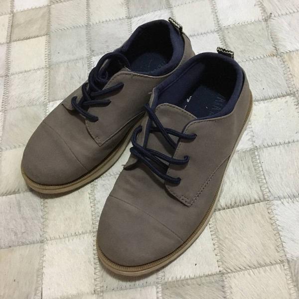 3 calçados menino