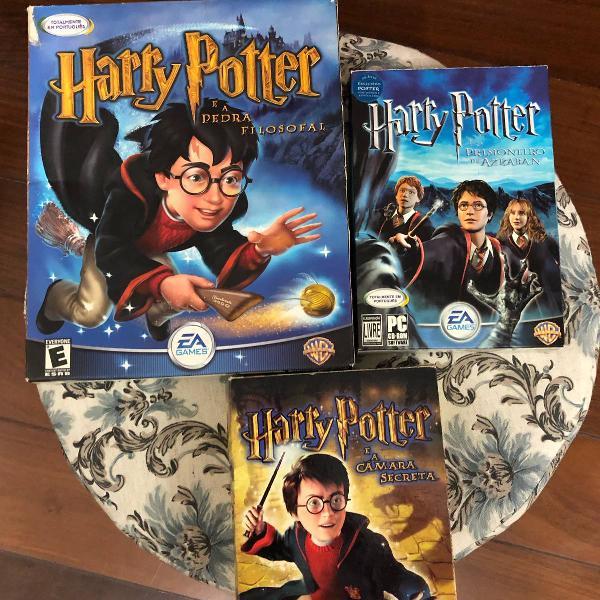 3 jogos para pc harry potter