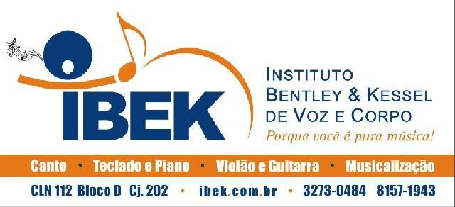 Aulas de canto e instrumento