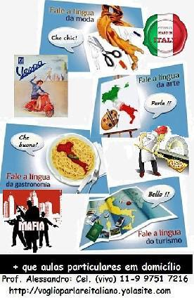 Aulas de italiano alphaville / granja viana