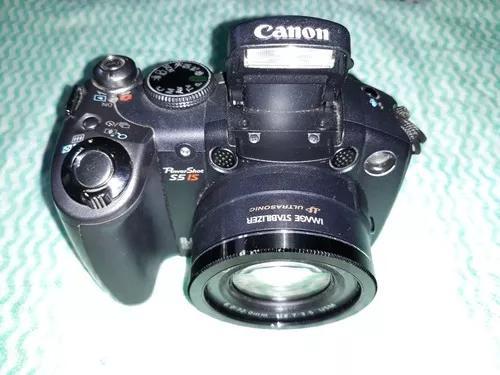 Camera canon s5-is leia a descrição com atenção.