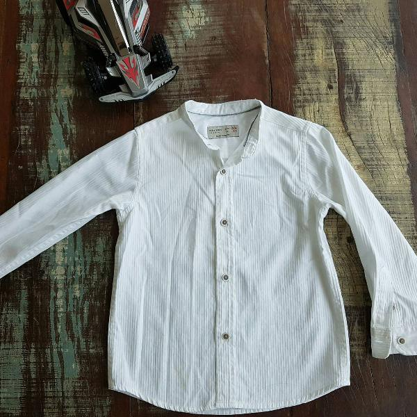 Camisa social zara boys para rapazinho