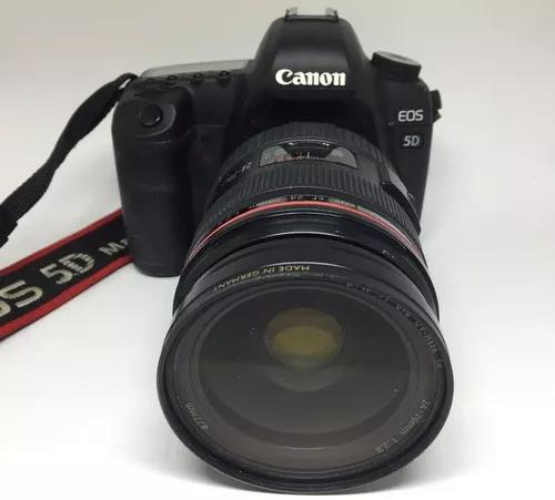 Canon dslr eos 5d mark ii, lente ef24-70mmf/2.8l,