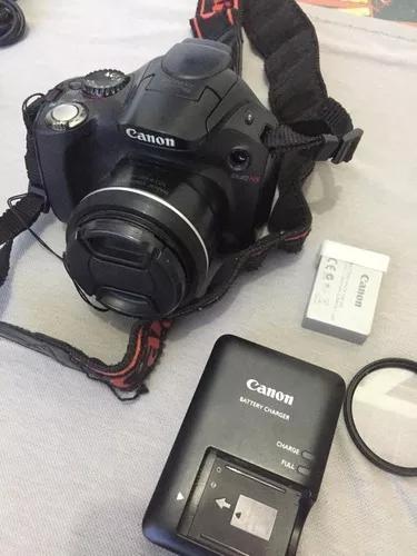 Câmera canon power shot sx40hs