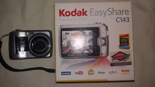 Câmera digital fotográfica kodak easyshare c143.