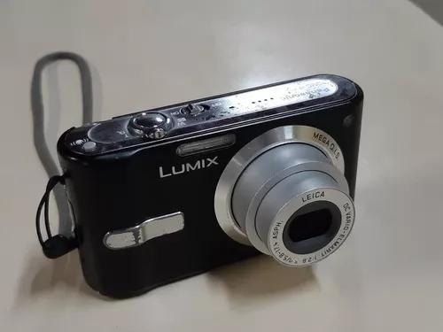 Câmera digital panasonic dmc fh12 lumix 7.2 megapixels