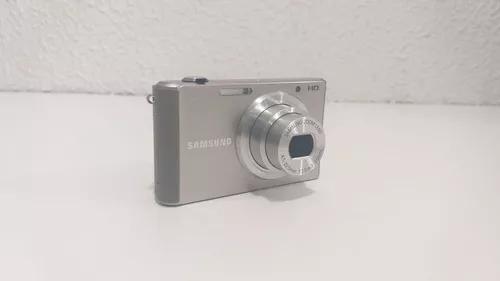 Câmera digital samsung st77 16.1mp lcd 2.7 - filma hd nova