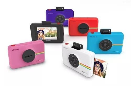 Câmera instantânea polaroid snap polsp01b 10mp fotos 2 x 3