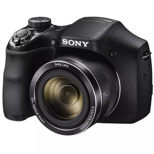 Câmera sony cyber-shot dsc-h300 35x 20.1 mp - t