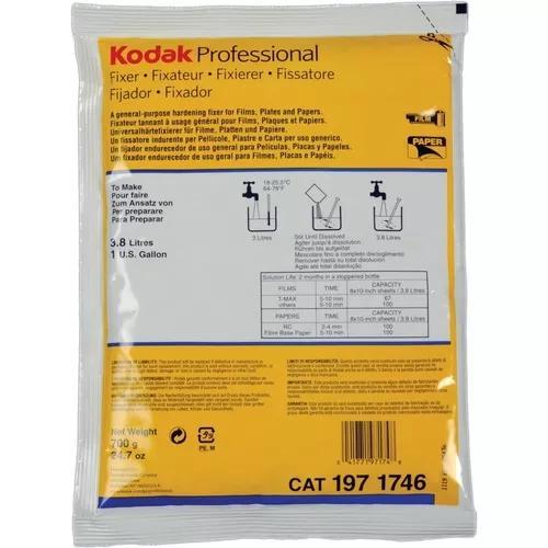 Fixador kodak 3.8l para filme fotografico preto e branco
