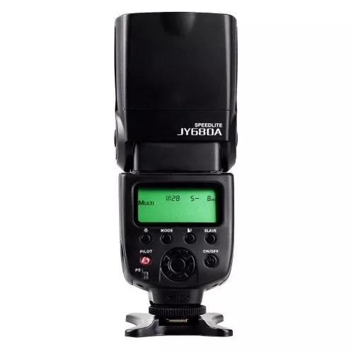 Flash canon speedlight jy680a 6d 70d t6i t3 oferta!