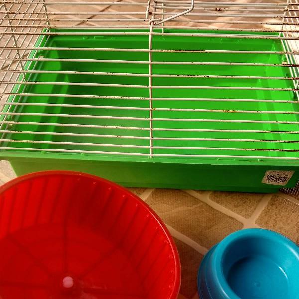 Gaiola para hamster/porquinho da índia...