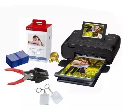 Impressora canon cp1300 108 fotos + cortador + chaveiros