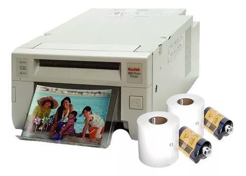 Impressora fotografica kodak 305 + 3.200 fotos 10x15