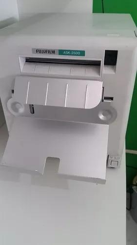 Impressora fuji ask 2500 com um kit papel e ribbon p/ 600 f.