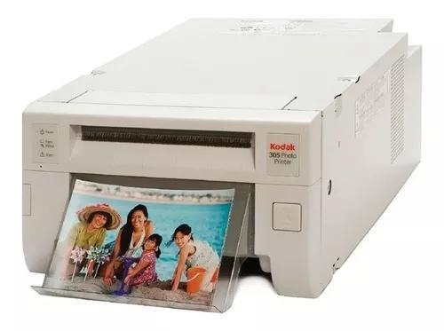 Impressora kodak 305 c/ 1 papel + ribbon para 320 fotos