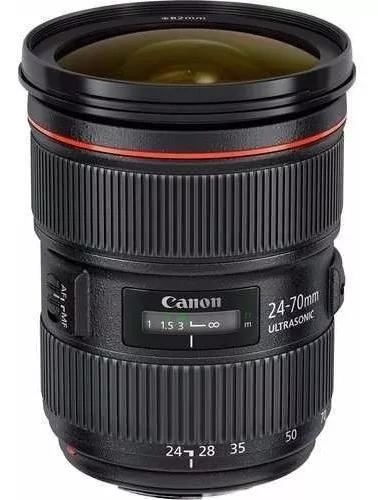 Lente canon ef 24-70mm f/2.8l ii usm - garantia + nf