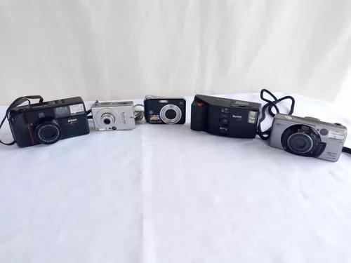 Lote de câmeras fotográficas canon e nikon vendo no estado