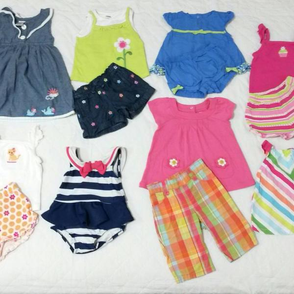 Lote de roupas bebê menina (gymboree)