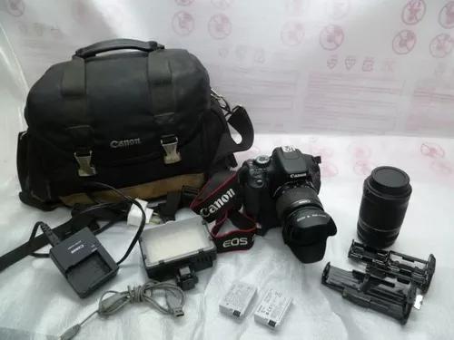 Maquina fotográfica canon eos rebel t3i
