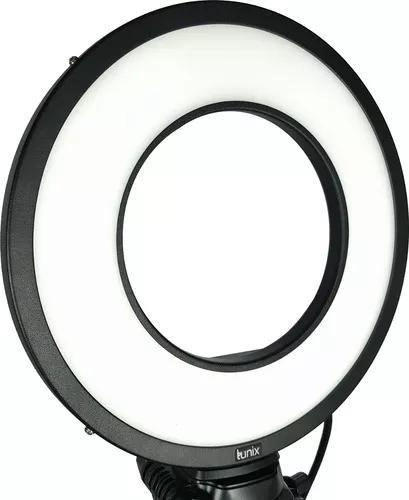 Promoção ring light led bivolt 25w lunix - original
