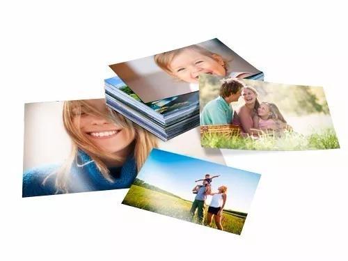 Revelação de 100 fotos 10x15 papel fosco/brilho fujifilm