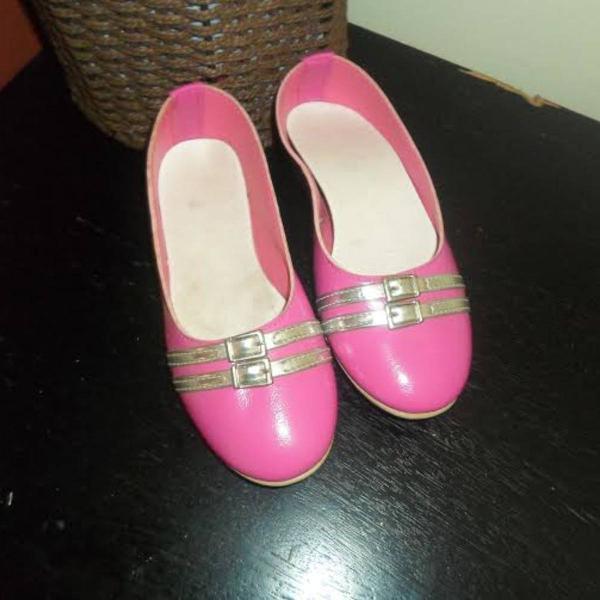 Sapatilha menina pink