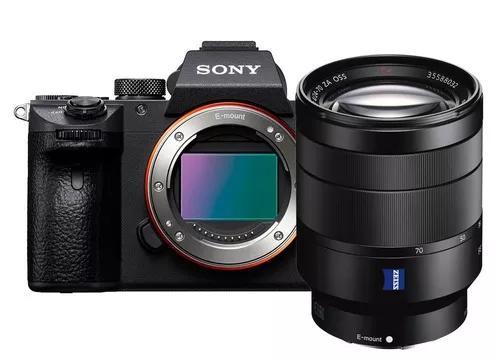 Sony a7 iii full frame 4k 24.2 + lente sony zeiss 24-70mm