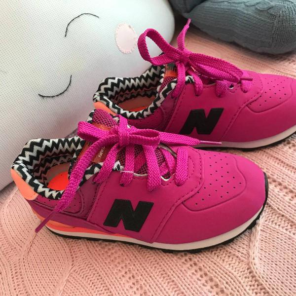 Tênis rosa new balance