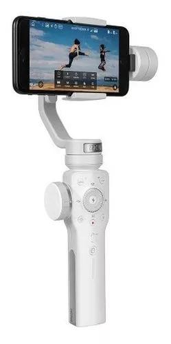 Zhiyun smooth 4 estabilizador gimbal p/ smartphones - branco