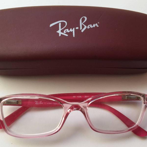 Armação de óculos infantil ray-ban