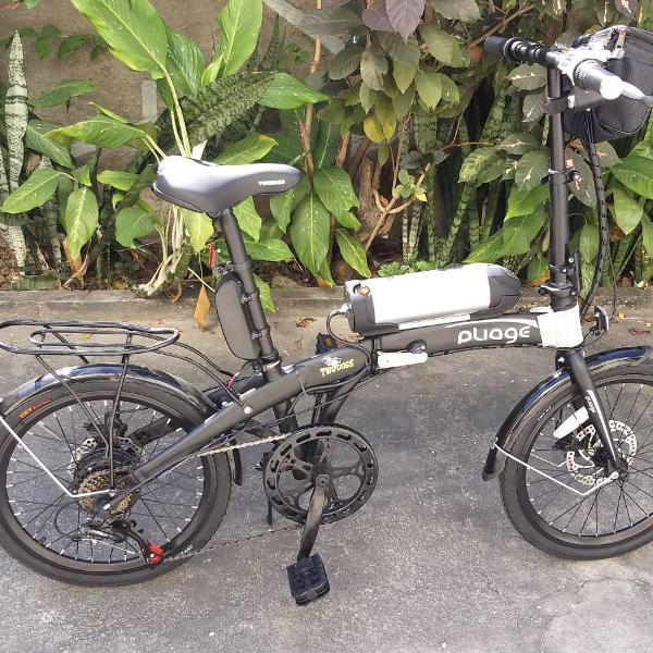 Bicicleta elétrica two dogs pliage (dobrável)