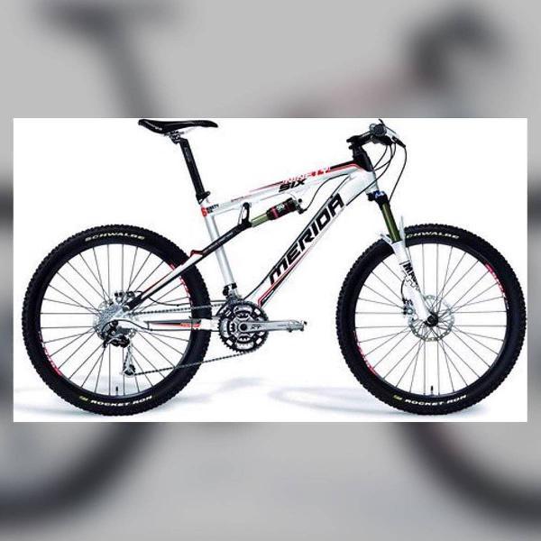 Bicicleta merida ninety six aro 26 - única dona