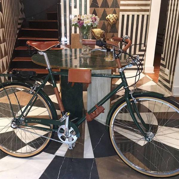Bicicleta novello milano verde