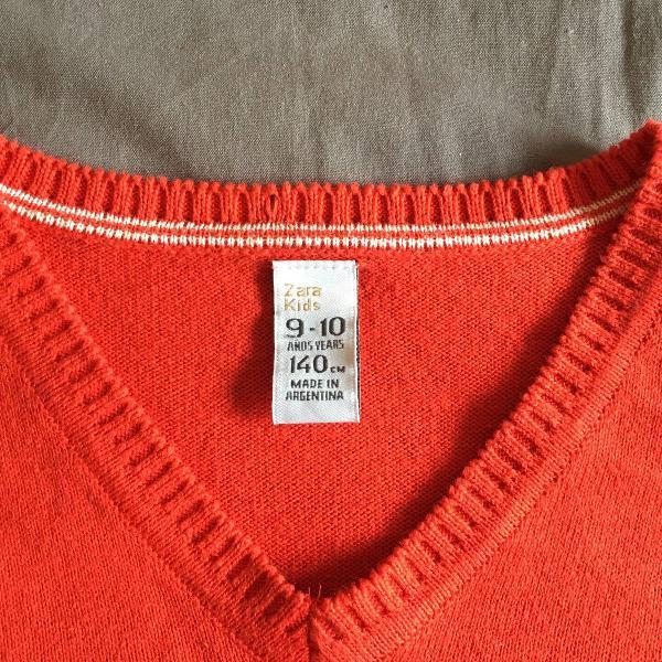 Blusa tricô zara 10