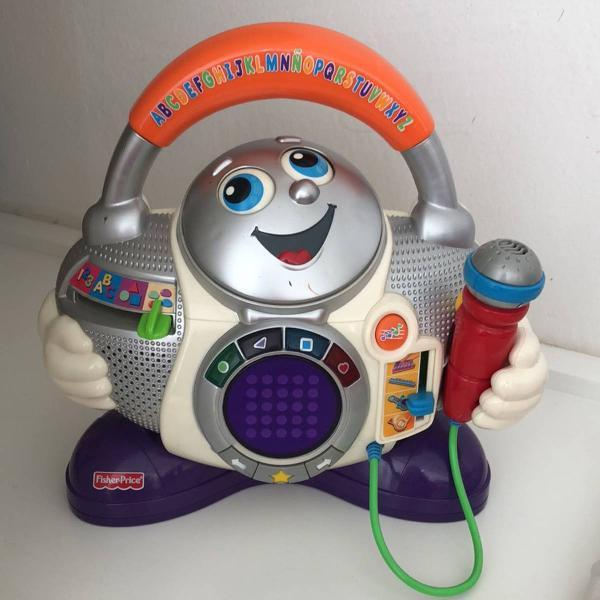 Brinquedo fisher price musical