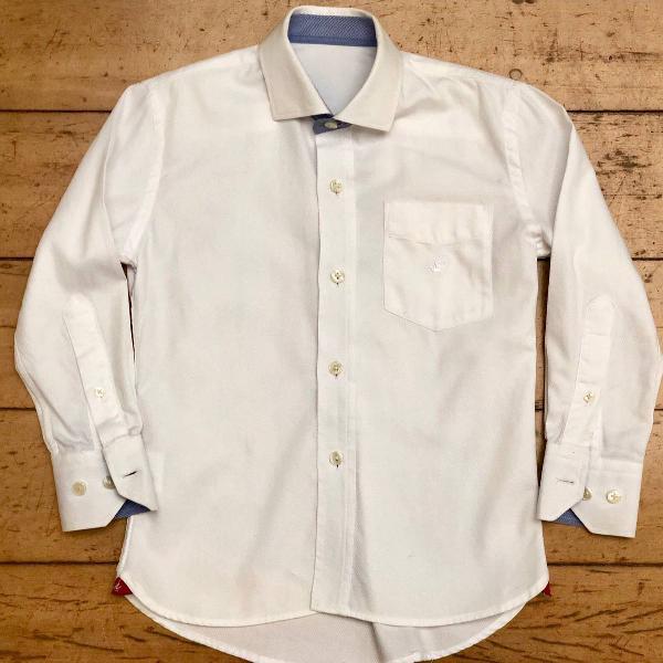 Camisa social brooksfield junior