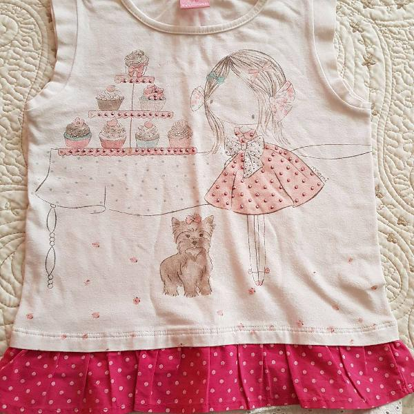 Camiseta infantil amorzinho