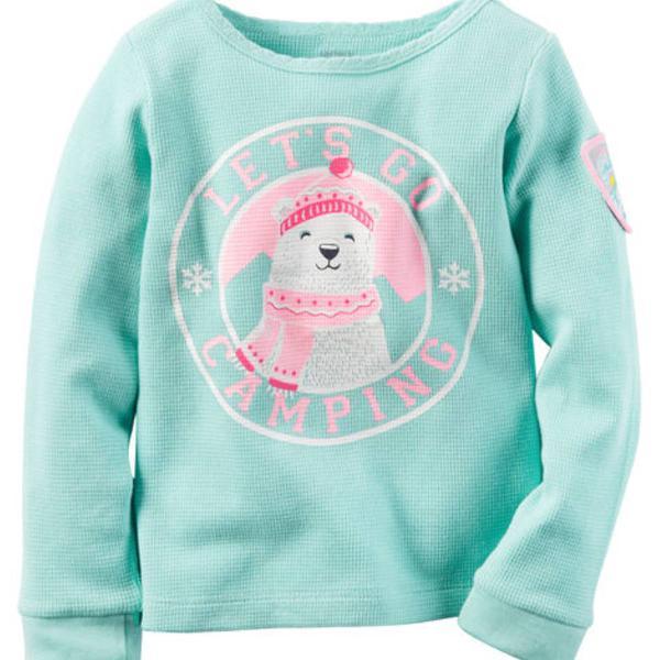 Carters: roupas de bebês 01 blusa