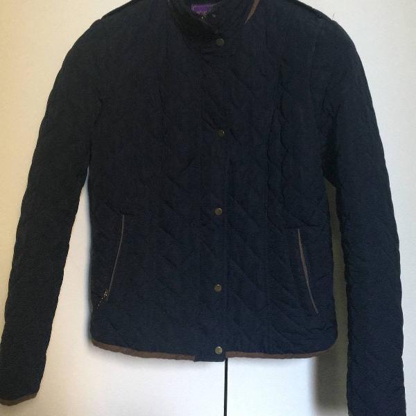 Casaco azul marinho importado zara inspired