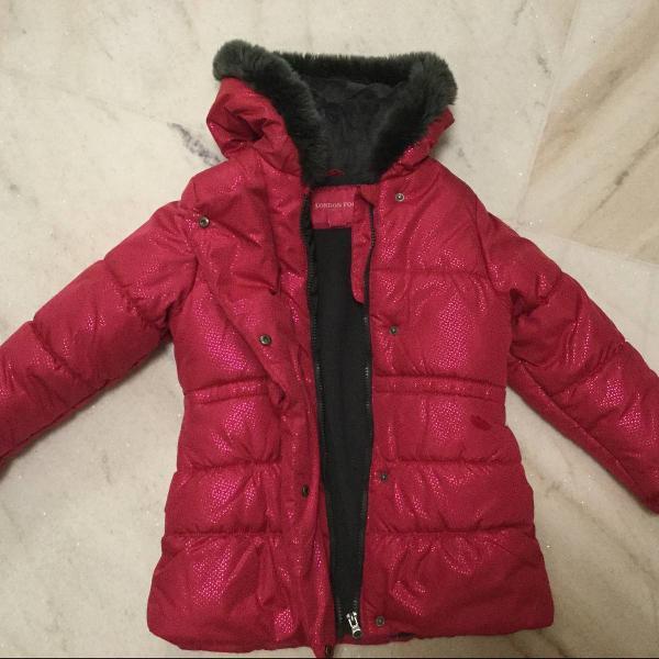 Casaco infantil para frio intenso