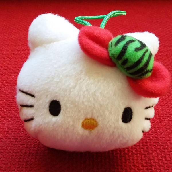 Chaveiro hello kitty melancia