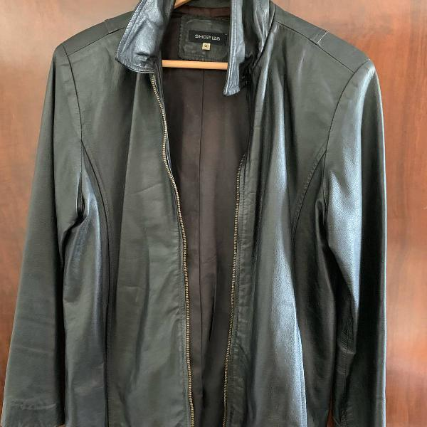 Jaqueta de couro preta, shop 126