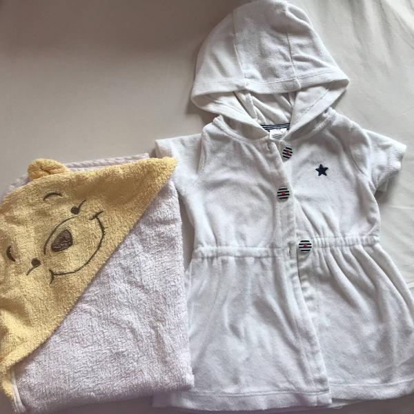 Kit banho roupão carters e toalha