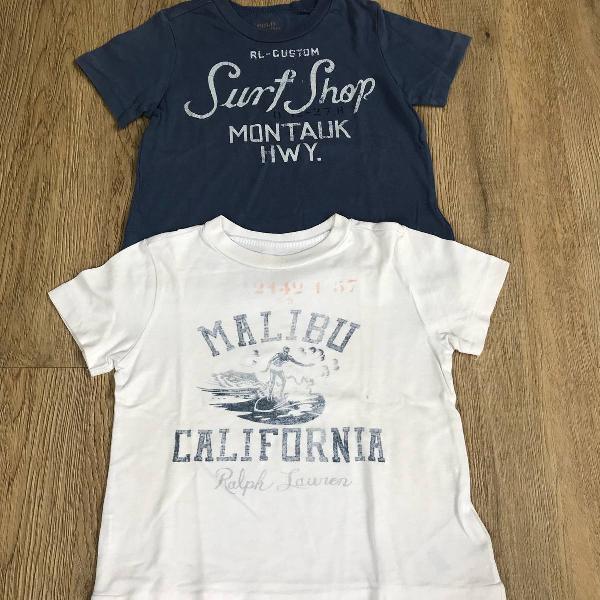 Kit camisetas polo ralph lauren