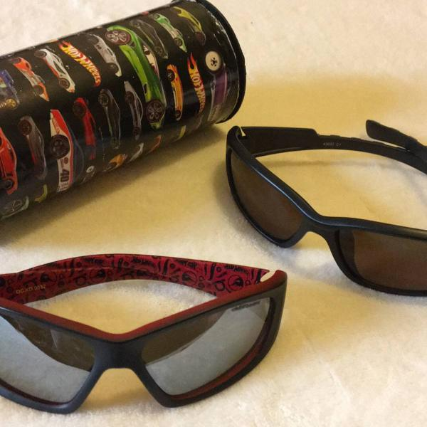 Kit de óculos infantis hot wheels - sem defeito