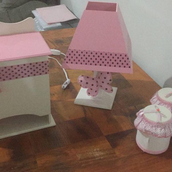 Kit decoração quarto bebê